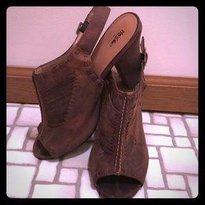 Women's open toe heels size 9 1/2